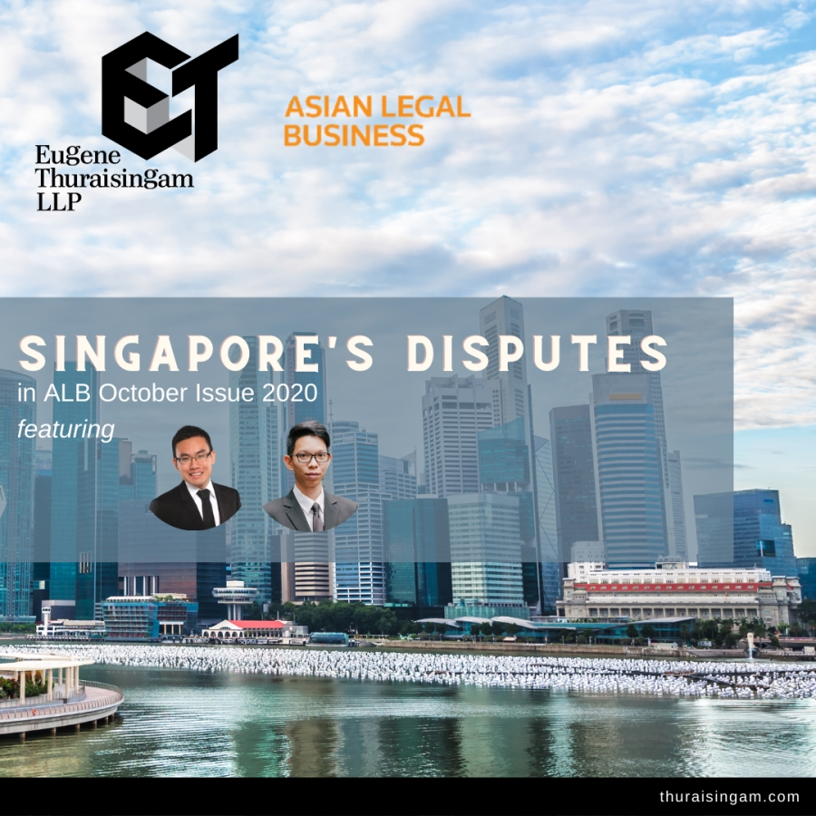 Overview on Dispute Resolution in Singapore