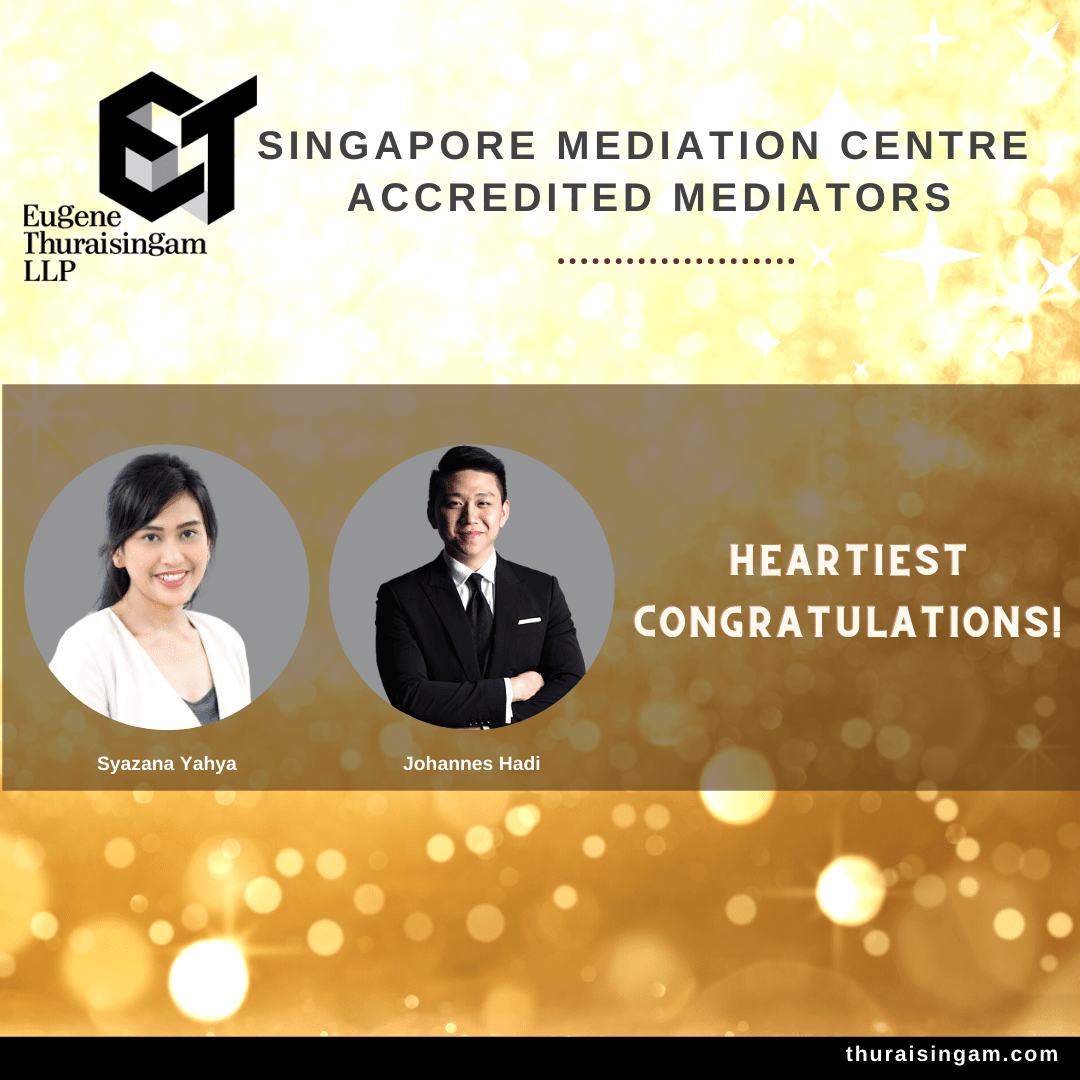 Singapore Mediation Centre (SMC) Accredited Mediators