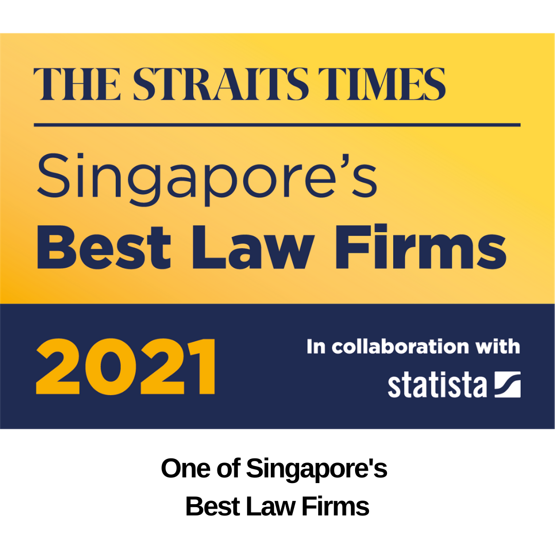 One of Singapore's Best Law Firms 2021